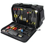 Jensen Tools JTK-2100L LAN Manager's Kit without Test Equipment in Cordura Case