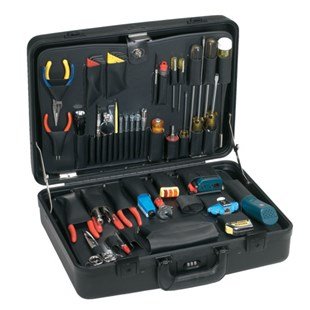Jensen Tools JTK-2100WM LAN Manager's Kit with Test Equipment in Monaco Case