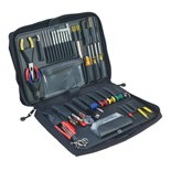 Jensen Tools JTK-2900 Network Support Kit in Single Black Ballistic Case