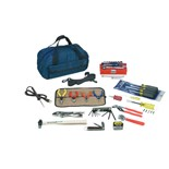 "Jensen Tools JTK-31 Multi-Purpose Kit-in-a-Bag, 11"" x 6"" x 6"""