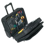 "Jensen Tools JTK-32M Electronic Equipment Installation & Service Kit in Soft-Sided ""Tote"" Case"