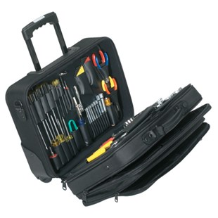 """Jensen Tools Electronic Equipment Installation & Service Kit in Soft-Sided """"Tote"""" Case"""