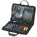 Jensen Tools Electronic Equipment Installation & Service Kit in Single Black Cordura Case