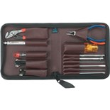 "Jensen Tools Black Leather ""Briefcase"" Kit"