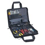 Jensen Tools JTK-36BK Service Engineer's Kit in Single Black Cordura Case