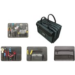 Jensen Tools Deluxe Telecom Installation Kit in Double Gray Ballistic Case