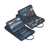 Jensen Tools JTK-4400WB Deluxe Telcom Installation Kit in Double Black Ballistic Case
