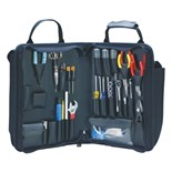Jensen Tools JTK-45 Deluxe Telecom Installer's Kit in Single Black Cordura Zipper Case