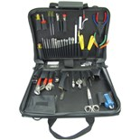 Jensen Tools JTK-46BLK Communications Kit without Test Equipment in Single Black Cordura Plus Case