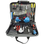 Jensen Tools Communications Kit with Test Equip. in Single Gray Cordura Case