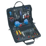 Jensen Tools Communications Kit with Test Equip. in Single Black Cordura Case