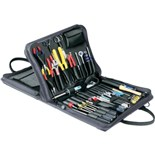 Jensen Tools JTK-47DBL Field Engineer's Kit in Double-Sided Gray Ballistic Nylon Case