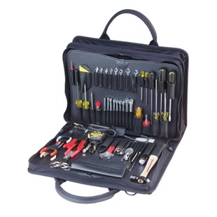 Jensen Tools JTK-48MM Metric Field Service Kit, Double Black Cordura Case