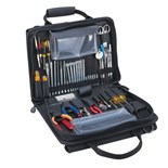Jensen Tools JTK-49CBR Workstation Kit in Single-Sided Black Cordura Case