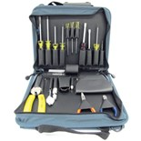 Jensen Tools Compact Technician's Kit in Single Blue Cordura Case