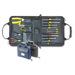 Jensen Tools JTK-50B Compact Technician's Kit in Single Black Cordura Case