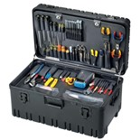 Jensen Tools JTK-53LW Deluxe Communications Kit in Roto-Rugged™ Wheeled Case