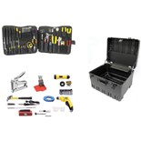 Jensen Tools Deluxe Communications Kit in Roto-Rugged wheeled case