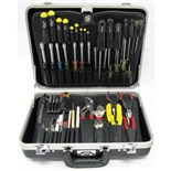 Jensen Tools JTK-55BXP Field Service Tool Kit in Deluxe Poly Case, 17-3/4 x 12-3/4 x 5""