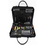Jensen Tools JTK-5B Network Kit in Double Black Cordura Case