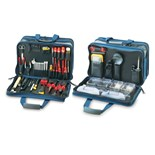 Jensen Tools JTK-67C Electrical Control Engineer's Kit in Blue 3-Sided Case