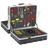Jensen Tools Bomb Squad Kit in Foamed 4-Sided Case