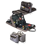 Jensen Tools JTK-7500 Inch Medical Equipment Kit in Single Gray Ballistic Nylon Case
