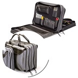 Jensen Tools JTK-7500DBL Inch/MM Medical Equipment Kit in Double Gray Ballistic Nylon Case