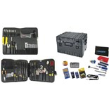 "Jensen Tools Deluxe Medical Kit in 12"" Roto Rugged Wheeled Case with Recessed Latches"