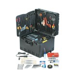 "Jensen Tools JTK-78WR Deluxe Medical Kit in 12"" Roto-Rugged™ Wheeled Case"