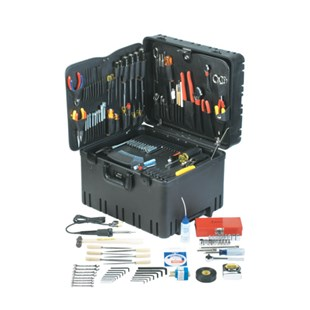 "Jensen Tools Deluxe Medical Kit in 12"" Roto-Rugged™ Wheeled Case"