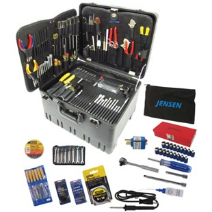 """Jensen Tools JTK-78WR Deluxe Medical Kit in 12"""" Roto-Rugged™ Wheeled Case"""
