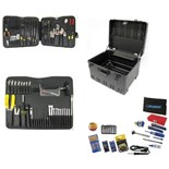 "Jensen Tools JTK-78WW Deluxe Medical Kit in 12"" Roto-Rugged™ Wheeled Case"