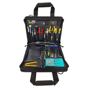 Jensen Tools Technician's Tool Kit in Single Black Cordura Plus Case