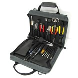 Jensen Tools JTK-86GC Technician's Tool Kit in Single Gray Cordura Plus Case