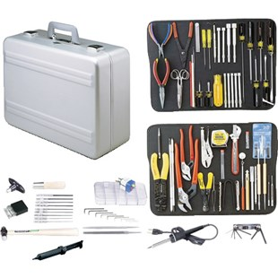 Jensen Tools JTK-87A Kit in Regular Aluminum Case