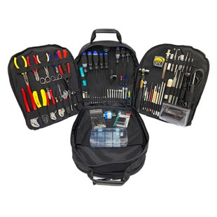 Jensen Tools Kit in Backpack Case, black