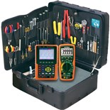 Jensen Tools Tool Kit with Extech EX530 Multimeter and MS420 Handheld Scope