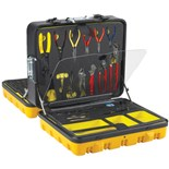 Jensen Tools JTK-87F General ElectronicsTool Kit in a 4-Sided Tool Control Case