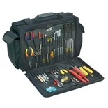 Jensen Tools Kit in Black Triple Cordura Case