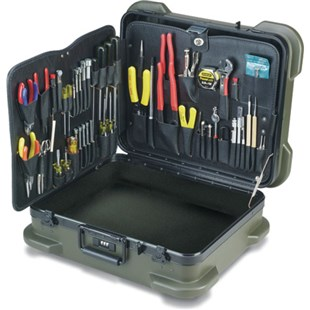 Jensen Tools JTK-87R Kit in Olive Rugged Duty Case