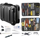 Jensen Tools JTK-87RB Kit in Black Rugged Duty Case