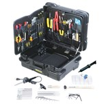 "Jensen Tools JTK-87TT Kit in 10"" Tough Tote Horizontal Wheeled Case"
