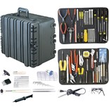 "Jensen Tools JTK-87WR Kit in 12"" Roto-Rugged™ wheeled case"