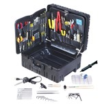 "Jensen Tools Kit in 8"" Roto-Rugged™ Wheeled Case"