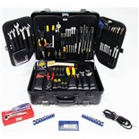 Jensen Tools JTK-88S Inch/MM Electro-Mechanical Kit in Black Super Tough Case