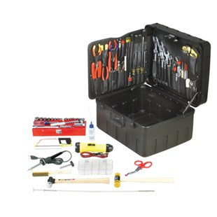 Jensen Tools JTK-91R Inch Electro-Mech. Installer's Kit in XR Rota-Tough™ Case