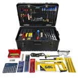 Jensen Tools Inch Electro-Mech. Service Kit in Roto-Rugged™ Wheeled Case