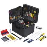 Jensen Tools JTK-93WW Inch Electro-Mech. Service Kit in Roto-Rugged™ Wheeled Case