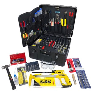 Jensen Tools Inch Electro-Mech. Kit in Xtra-Rugged Rota-Tough™ Case